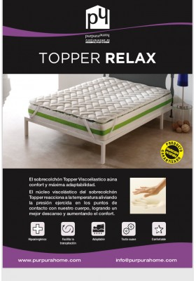 TOPPER VISCO RELAX 3 cm